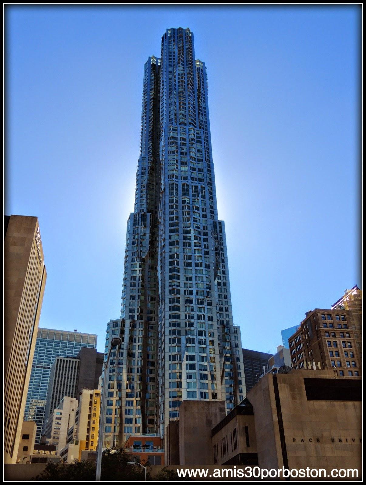 Segunda Visita a Nueva York: 8 Spruce Street