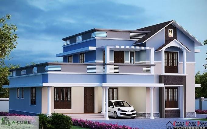 single storey villa Design