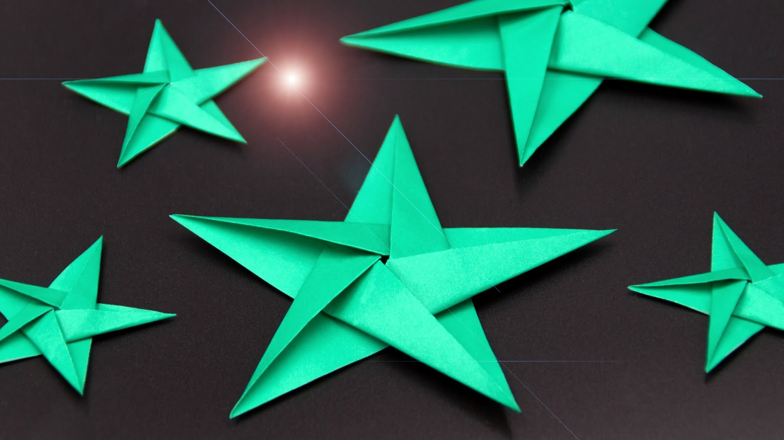 Basteln Und Mehr Origami Sterne Falten Zu Weihnachten Schone