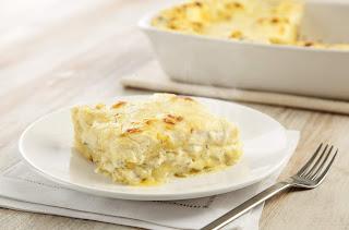 receita lasanha aos quatro queijos