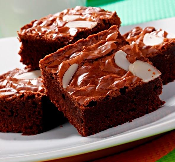 resep cara membuat brownies coklat panggang enak