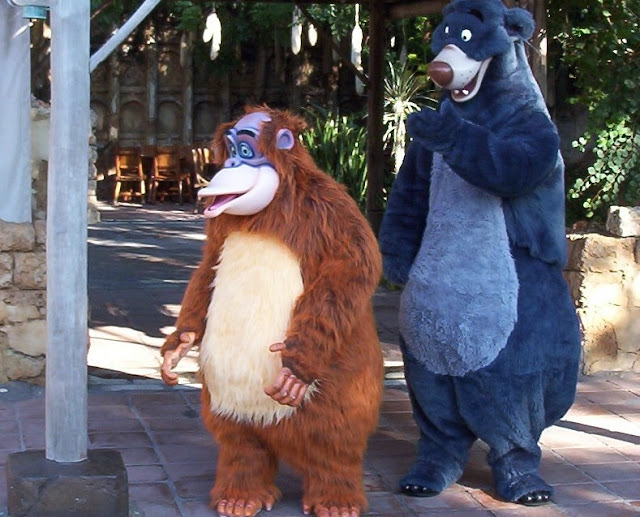 Image: Baloo and King Louie, by Edward Russell on Flickr