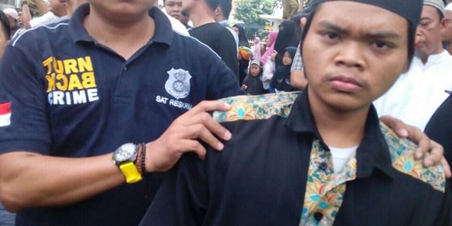 Jamaah Khalid Basalamah Terduga Pemukul Ketua Ansor Tulangan Diamankan Polisi