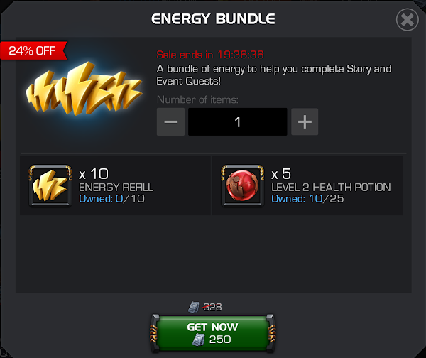 Limited Time Energy Bundle