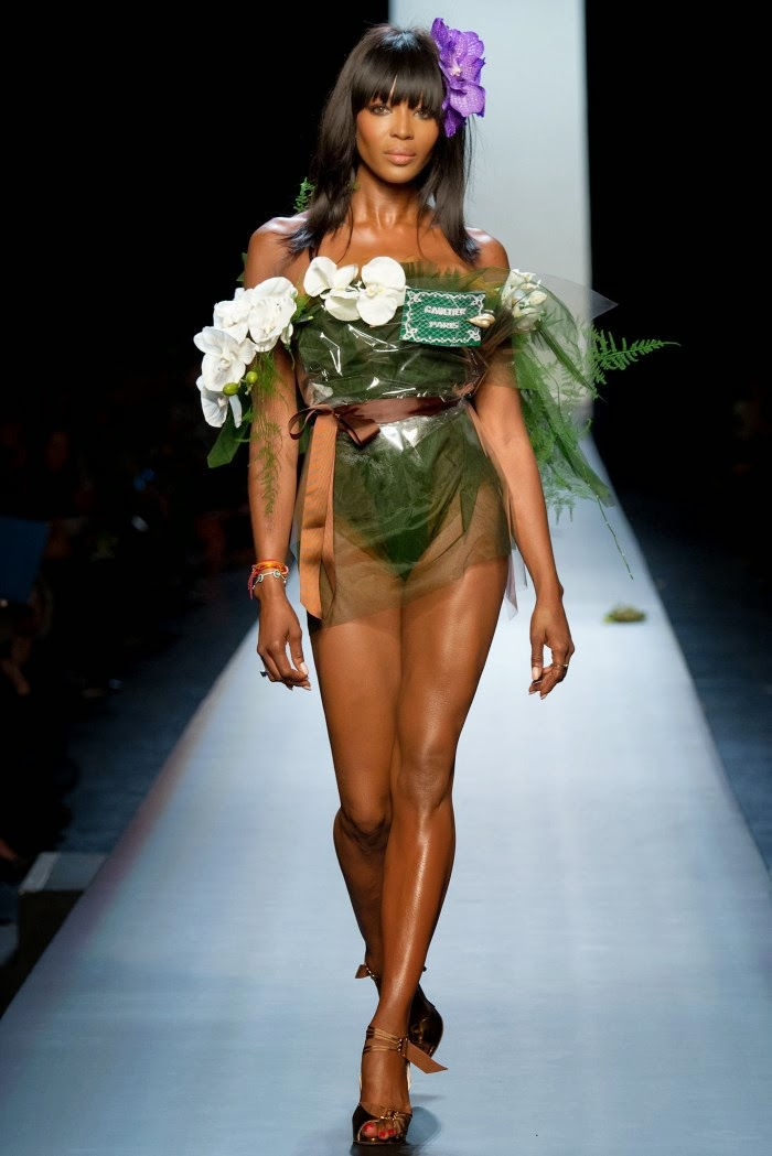 Concierge4fashion The Most Beautiful Girl In The World: Concierge4Fashion: Jean Paul Gaultier Spring 2015 Couture