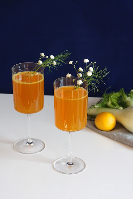 Golden Orchard Fennel Mocktail