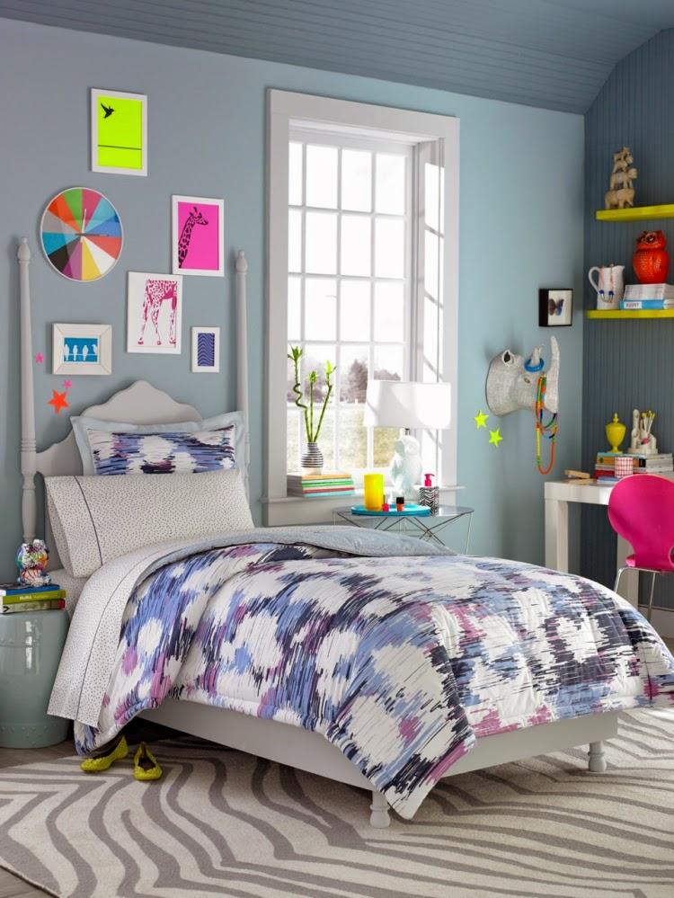 Habitaci n juvenil femenina dormitorios colores y estilos - Color habitacion juvenil ...