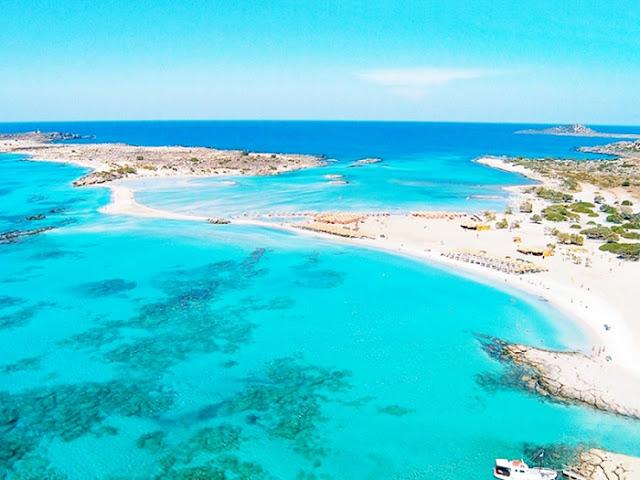 Praias de lua de mel em Creta