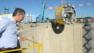 La tuneladora Elisa cavará desde la Costanera Norte