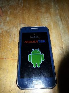 Samsung SM-J100 / SM-J100H Clone MEDIATEK LOGO Splash