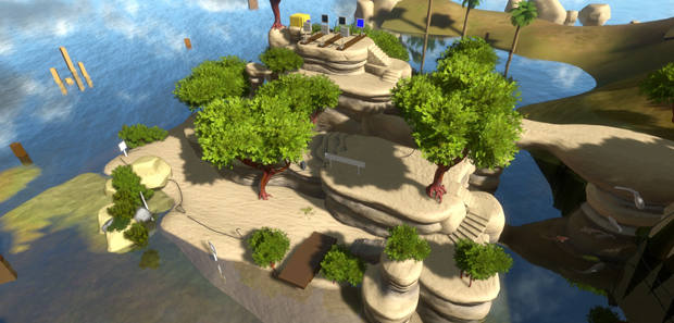 The Witness Developer Walkthrough and Gameplay Footage