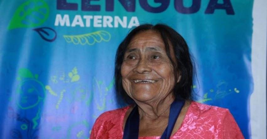 Ministerio de Cultura distingue a difusores e investigadores de lenguas indígenas