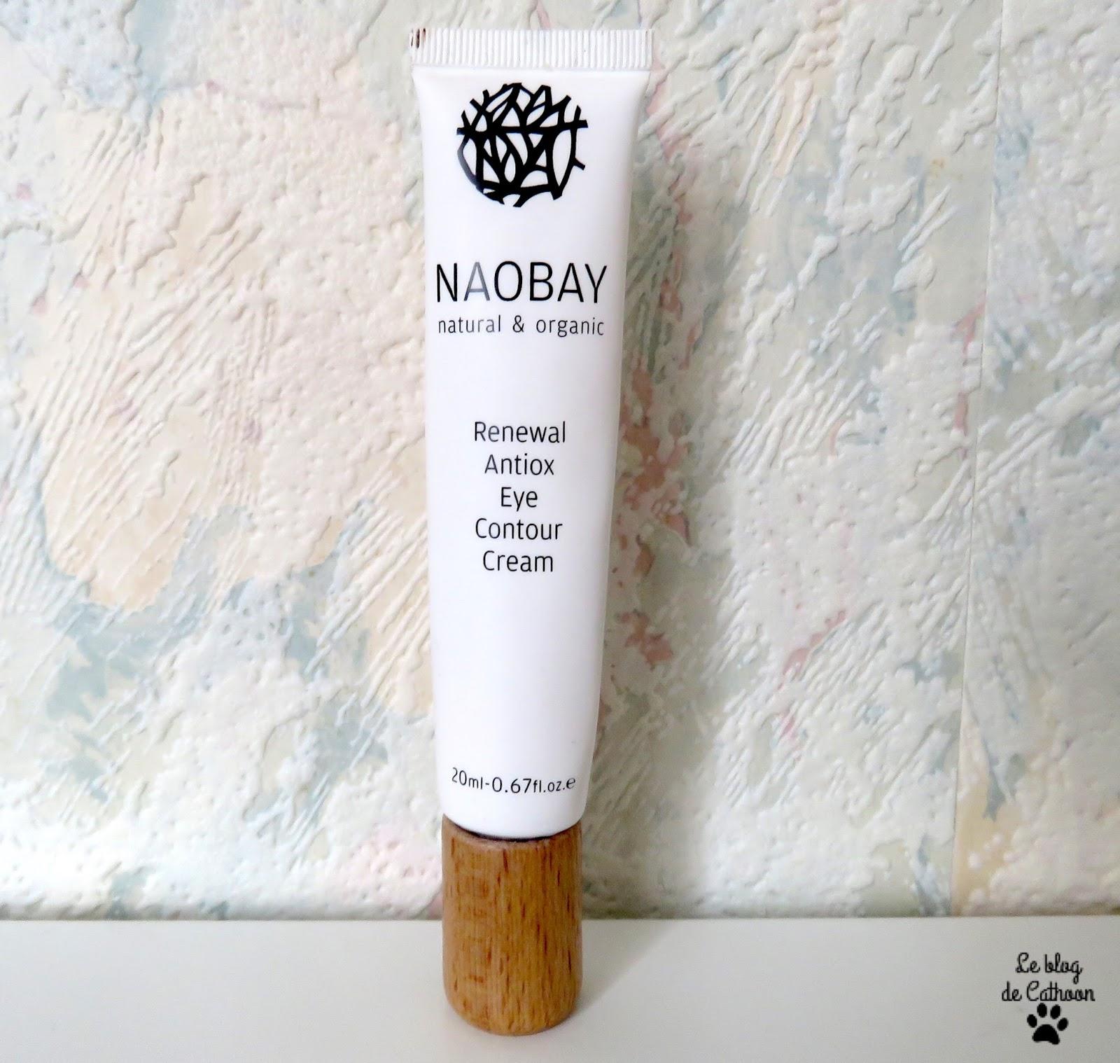 Renewal Antiox Eye Contour Cream de Naobay