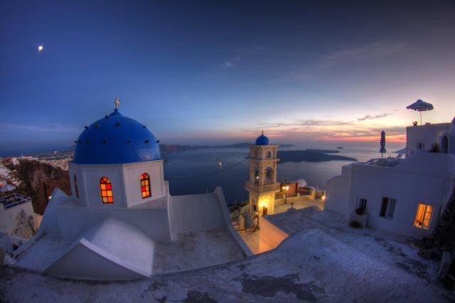 tramonto a imerovigli santorini