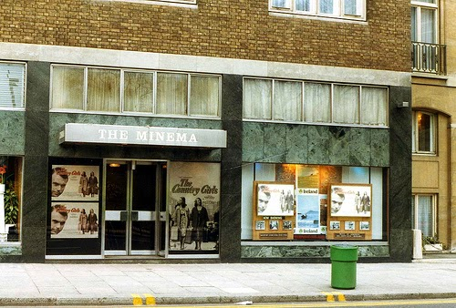 Colour Photo of Minema Cinema in London's Knightsbridge