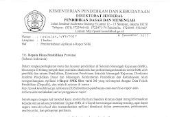 [Aplikasi] & PANDUAN E RAPOR SMK VERSI 3.0 (VERSI UPDATE Tahun 2017/2018)