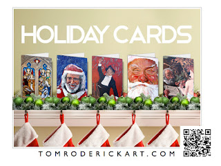 Christmas Cards by Boulder artist Tom Roderick