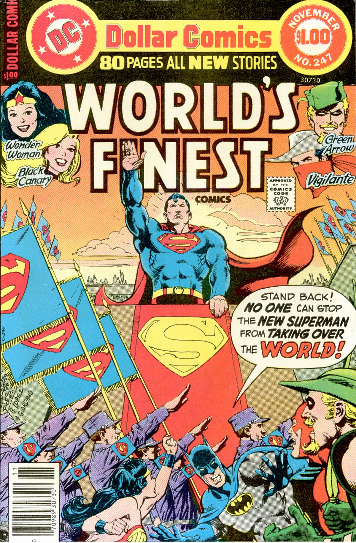 Read online World's Finest Comics comic -  Issue #247 - 1