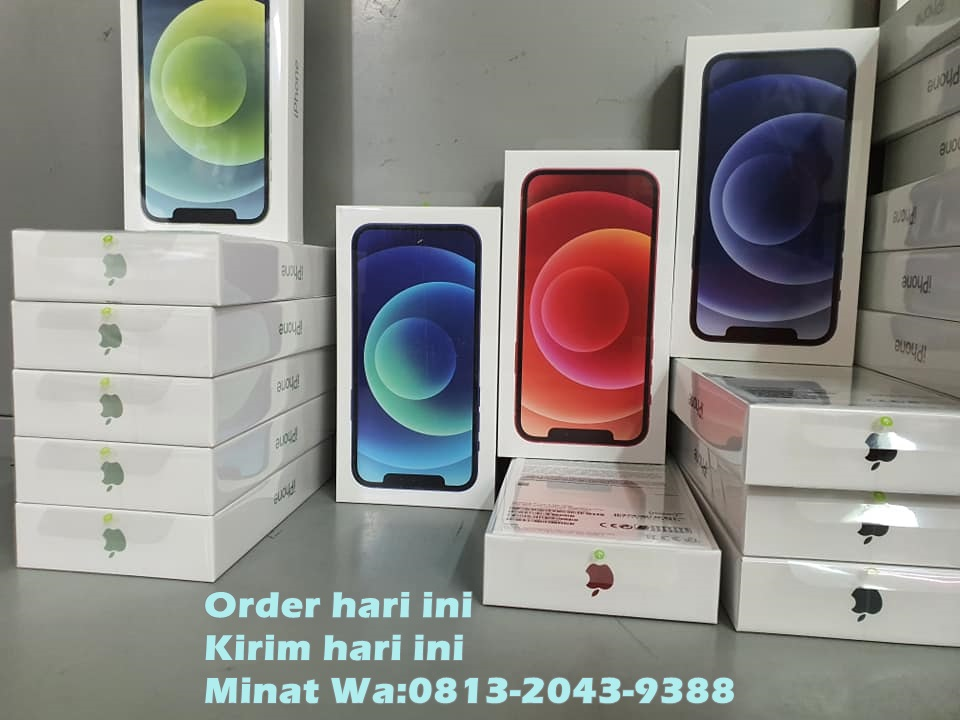 JUAL APPLE IPHONE 12 PRO BLACK MARKET ORIGINAL