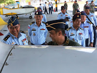 TNI  AU Perkuat Kerjasama Dengan  AU  Kamboja