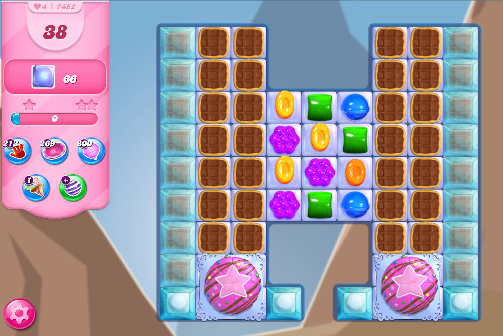 Candy Crush Saga level 7452