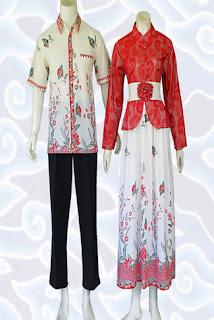 Gambar Gamis Batik Dengan Bolero