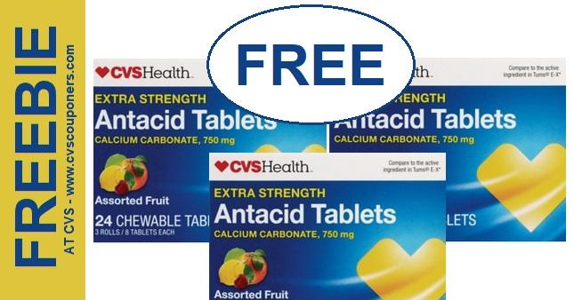 FREE CVS Health Antacid Tablets at CVS - 5-12-5-18