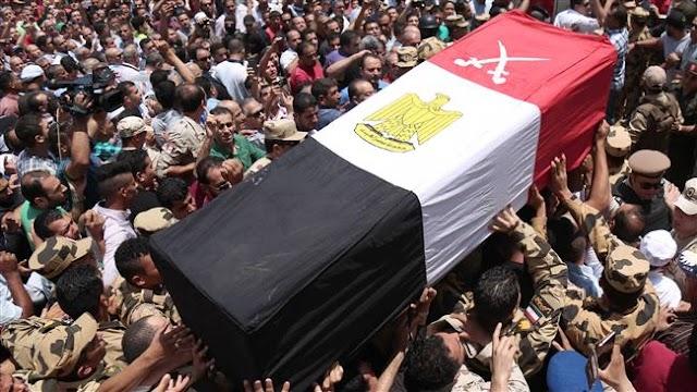 Egypt hangs 15 militants for attacks in Sinai