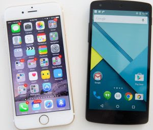 confronto ios 8 o android 5