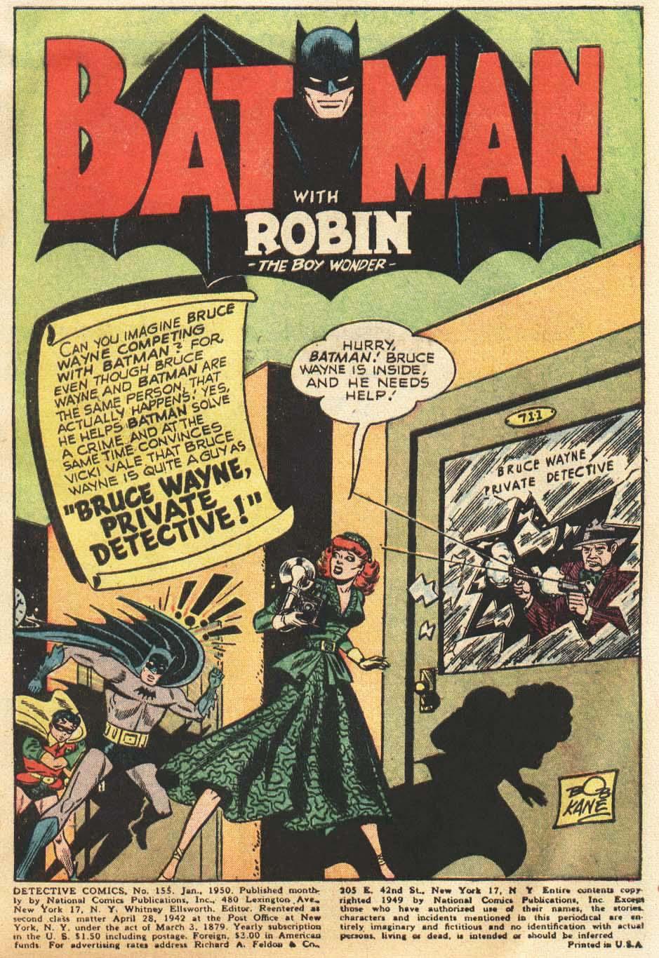 Detective Comics (1937) 155 Page 2