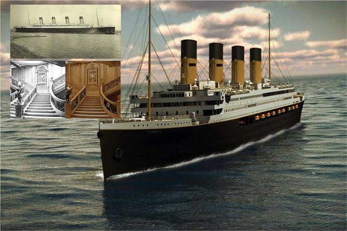 Réplica de US$500MM del Titanic navegará por la misma ruta de 1912 desde Dubai a Inglaterra y Nueva York