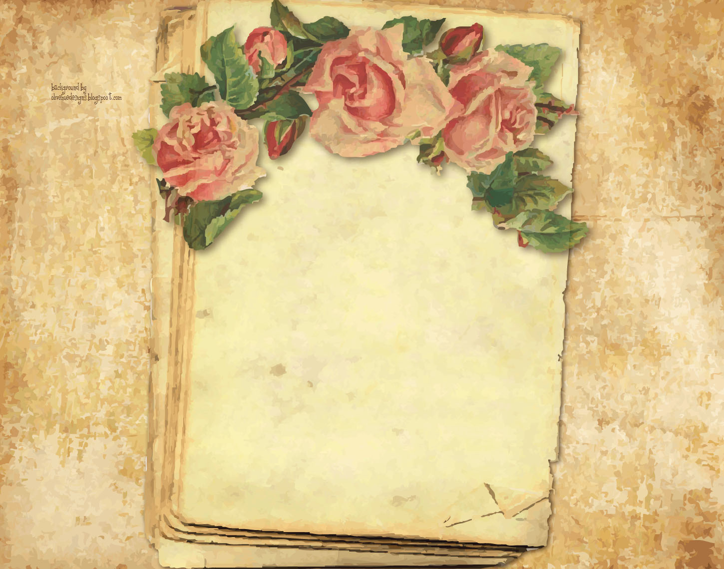 old crow backgrounds & designs: victorian rose