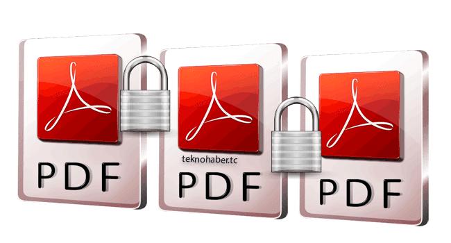 Şifreli PDF Belgesi Nasıl Hazırlanır
