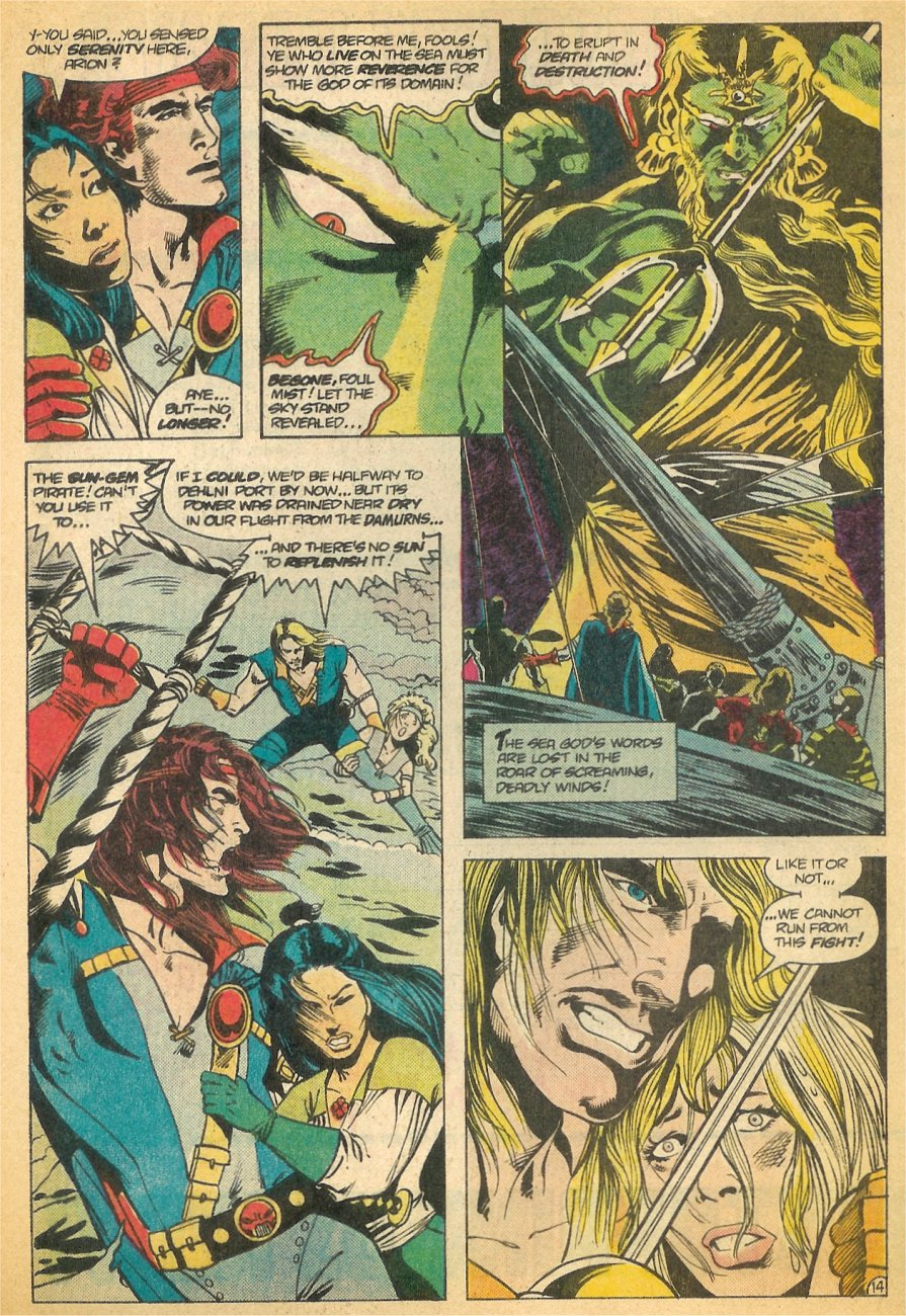 Read online Arion, Lord of Atlantis comic -  Issue #21 - 15