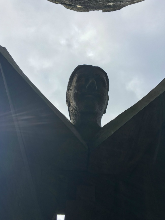 Our-weekly-journal-10-April-caerphilly-castle-giant