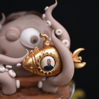 Le Bestiaire Extraordinaire de Jules Verne - Sébastien d'Un Cupcake, l'Addition !