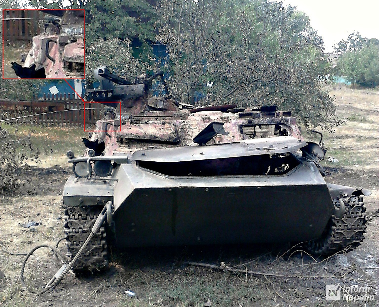 МТ-ЛБ ВМ\К 34 омсбр