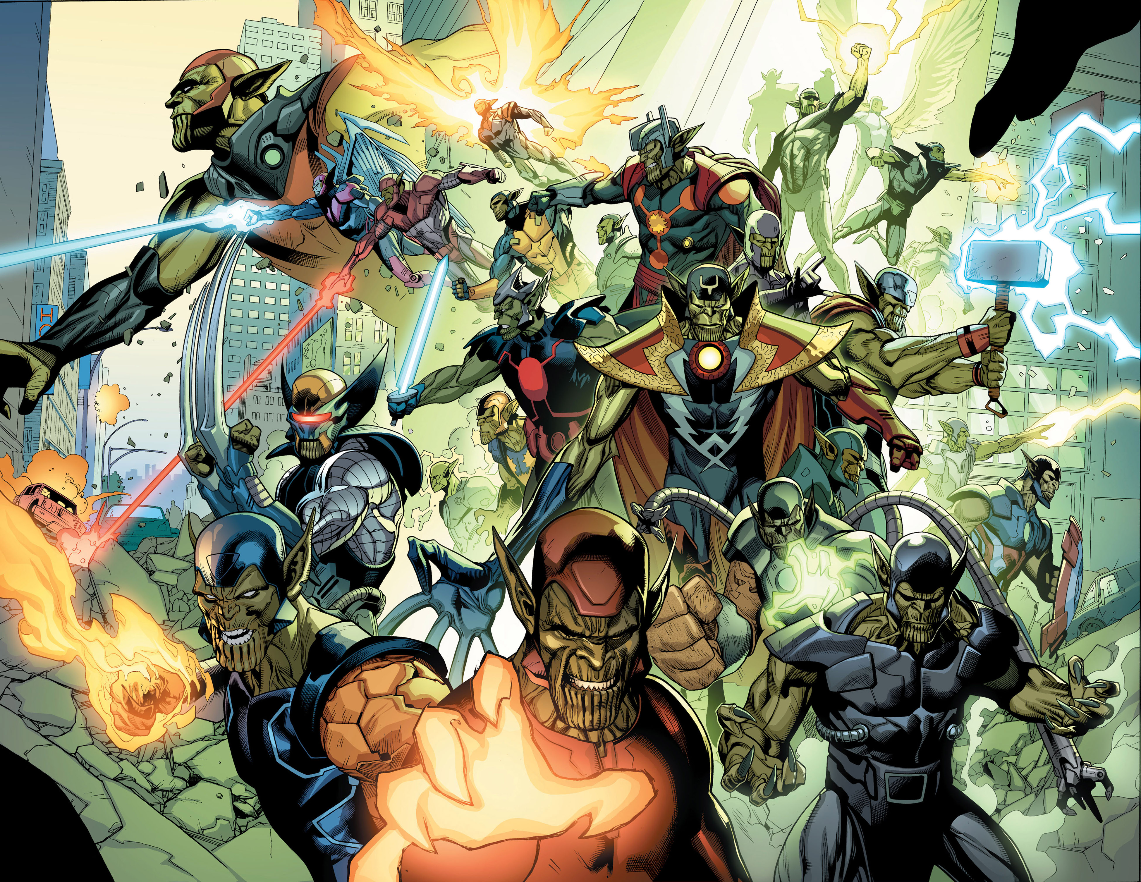 Read online Secret Invasion comic -  Issue #2 - 19
