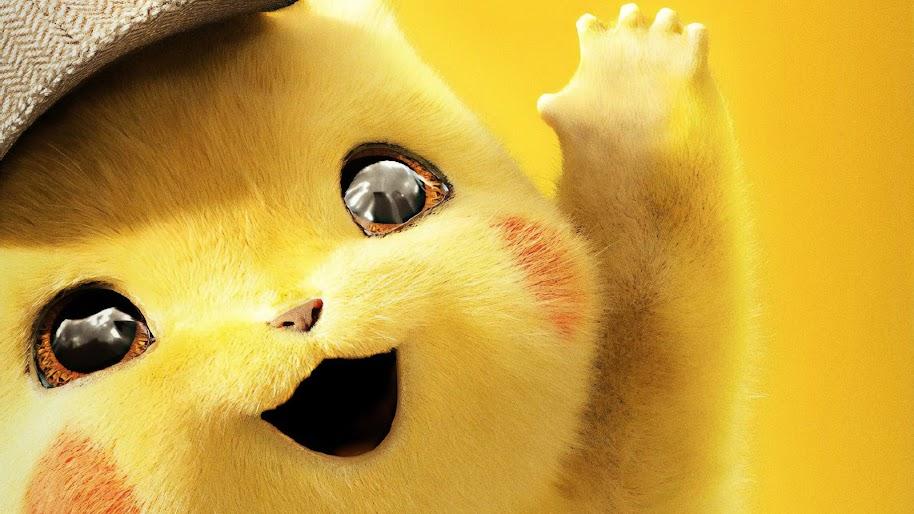 Detective Pikachu, 4K, #55
