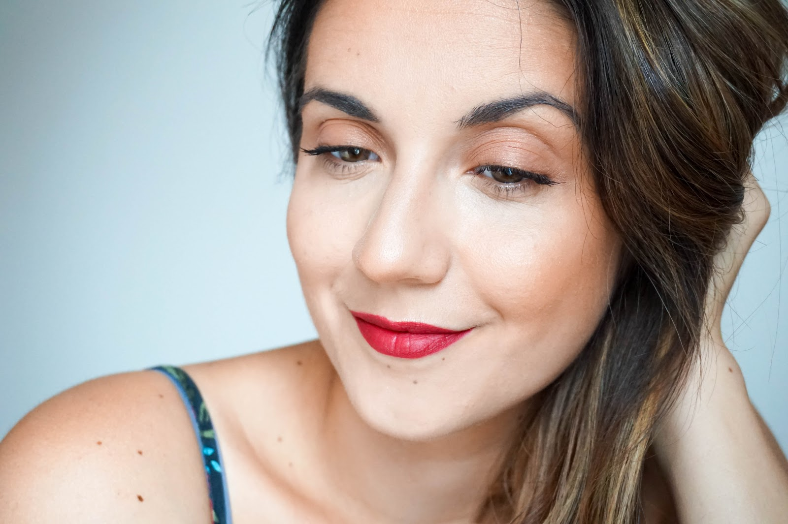 Radiant Skin & Statement Lips for Autumn