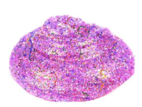 PARTY SLIME: Great for new years, birthday parties, & more!  (Super sparkly & smells like birthday cake!) #slimerecipes #slimeforkids #partyslime #partyideasforkids
