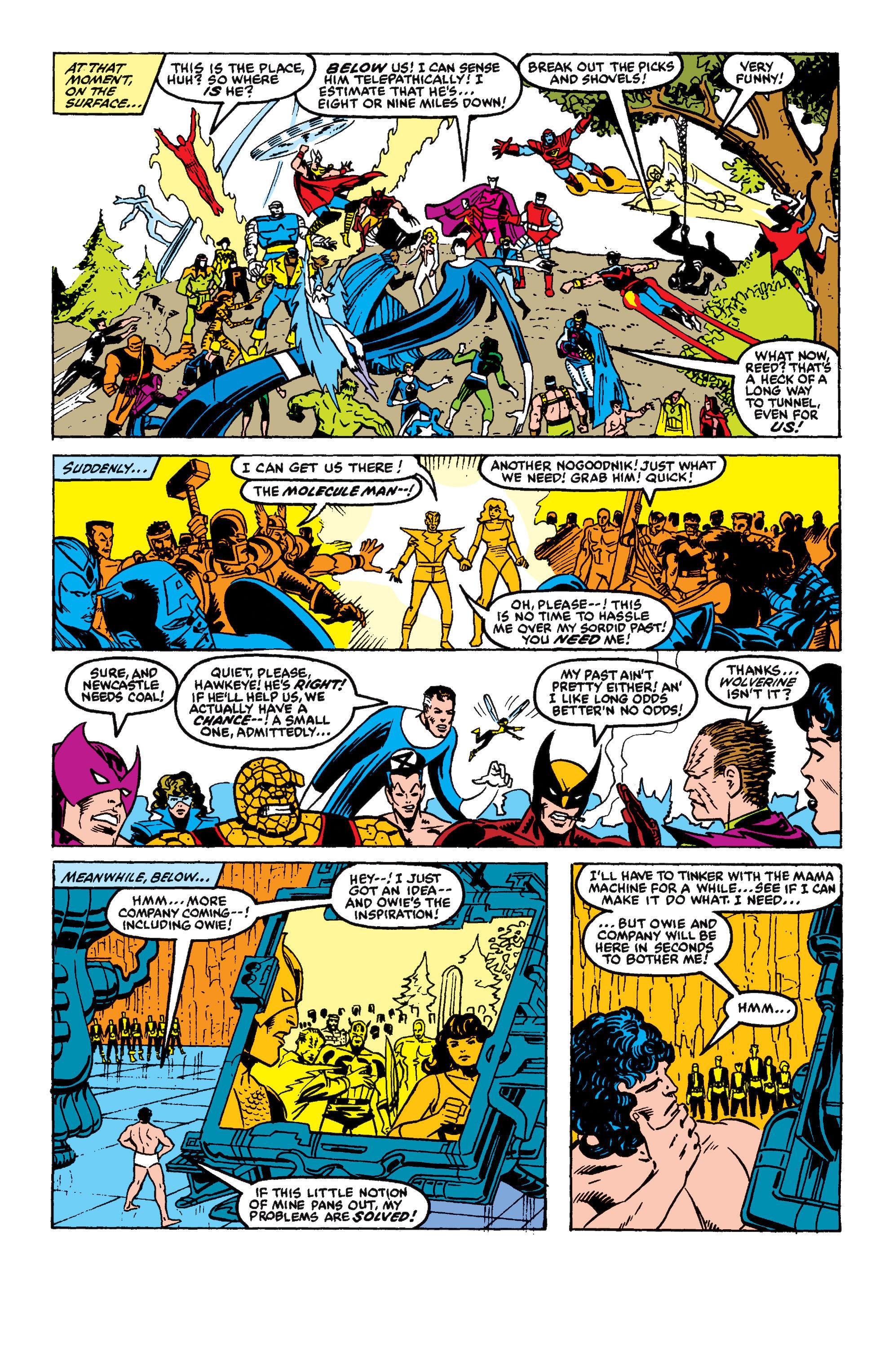 Read online Secret Wars II comic -  Issue #9 - 22