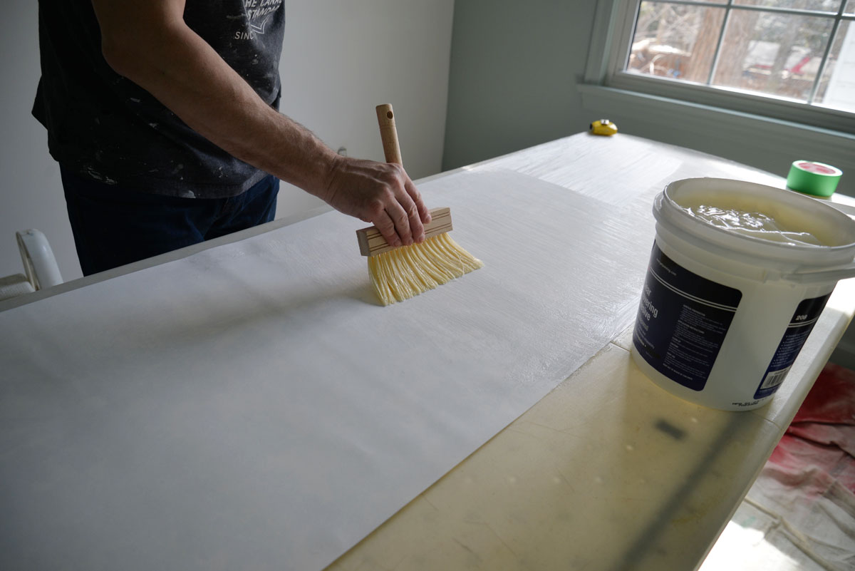 wallpaper paste | ramblingrenovators.ca