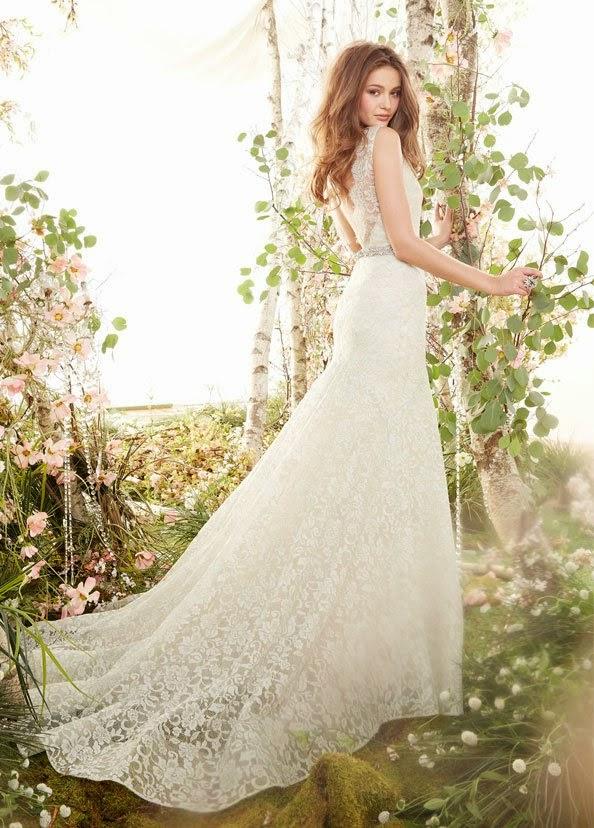 lindos vestidos de novia de temporada | vestidos de primavera para