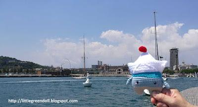 Fiete paper boat Lalylala amigurumi