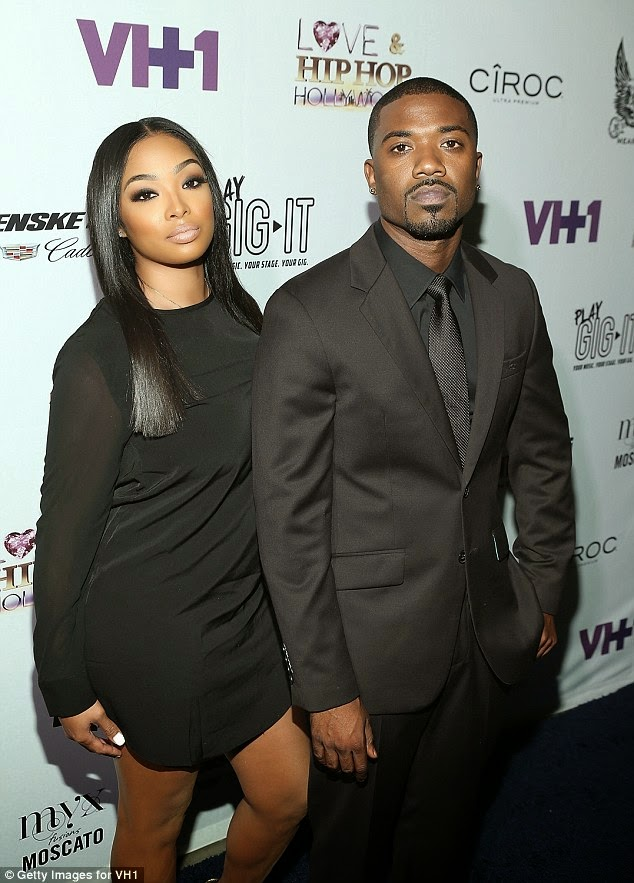 Princess Love arrested for beating  Ray J to a bloody pulp' after strip club visit