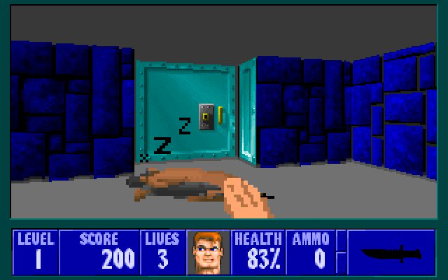 YifMoE7gzhuo7BiSHzWLMk-650-80 This Wolfenstein 3D mod lets you pat the dogs until they go to sleep Games