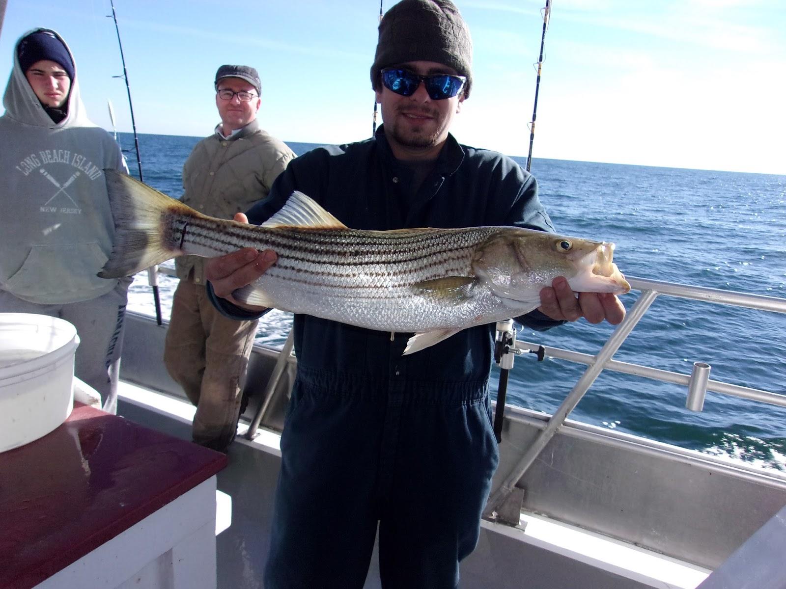 Nj salt fish 2017 11 25 seahunter atlantic highlands for Fishing license az price