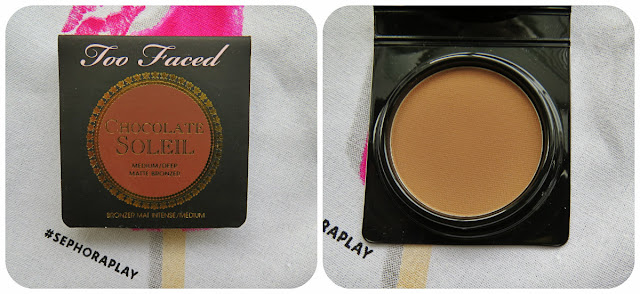 Too Faced Soleil Matte Bronzer in Chocolate