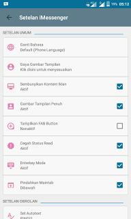 Download BBM MOD iMessenger V6 v3.0.0.18 APK Terbaru 2016